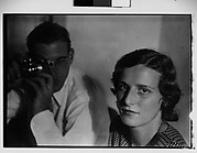 [Unidentified Couple with Leica Camera: Dorothy and Harry Harvey?]