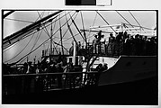 "[Passengers on Deck of Ship ""Juan Sebastian Elcano""]"