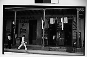 [Pool Room and Clothing Store Under Colonnade, Havana]
