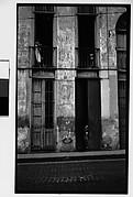 [Doorway and Balconies of Housefront, Havana]