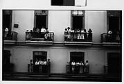 [Spectators on Balconies, Havana]