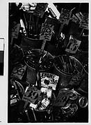[Hardware Store Display of Tools in Buckets, Brooklyn, New York]