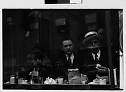 [Men Eating at Lunch Counter Window, Lexington Avenue, New York City]