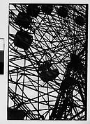 "[""Wonder Wheel"" Ride Detail, Coney Island, New York]"