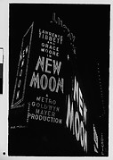 """[Neon Sign at Night for """"New Moon"""", Times Square, New York City]"""