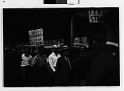 [Picket Line on Waterfront, New York City]