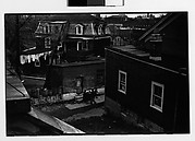 [Houses, Backyard and Clothesline, Ossining, New York]