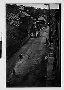 [Children on Hillside Street, From Elevated Position, Ossining, New York]