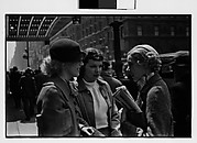 [Three Women in Conversation on Street, New York City?]