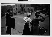[Pedestrians Crossing Main Street, Ossining, New York?]