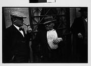 [Three Men on Street, Ossining, New York]