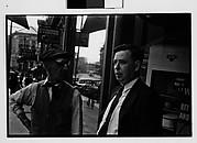 [Two Men on Sidewalk, Ossining, New York]
