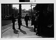 [Men on Central Avenue, Ossining, New York]