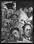 "[Detail of ""Mussolini"" Panel of Diego Rivera's Mural for the New Worker's School, New York City]"