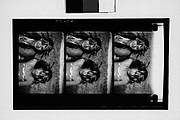 [South Seas: Three Motion Picture Film Frames of Young Couple]