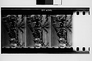 [South Seas: Three Motion Picture Film Frames of Dancing Group]