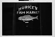 [Horice's Fish Market Window, Southeastern U.S.]