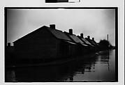 [Row of Wooden Company Houses, Southeastern U.S.]