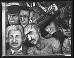 """[Detail of """"Hitler"""" Panel of Diego Rivera's Mural for the New Worker's School, New York City]"""
