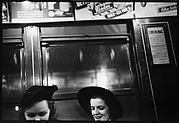 [Subway Passengers, New York City: Two Young Women]