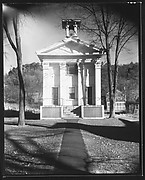 [Greek Revival Building with Belltower (Library)]