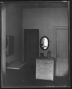 Bedroom Interior with Dresser and Mirror, Possibly Walker Evans' Apartment at 441 East 92nd Street, New York City]