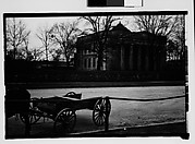 [Medical College with Horse-Drawn Wagon in Foreground, Augusta, Georgia]