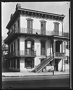 [Italianate Revival Balconied House, 530 East Broughton Street, Washington Ward, Savannah, Georgia]