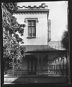 [Right Wing of Gothic Revival House, Charles H. Green House, Savannah, Georgia]