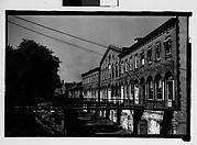 [Waterfront Building with Footbridges, Savannah, Georgia]