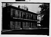 [Brick Building with Cast-Iron Balcony, Savannah, Georgia]