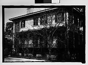 [House with Cast-Iron Porch, Savannah, Georgia]