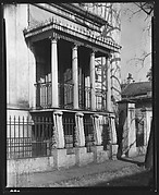[Cast-Iron Porch of Richard Richardson House, Savannah, Georgia]