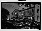 [Waterfront Building and Footbridge, Savannah, Georgia]