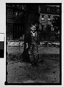 [Boy in Front of Tree, Savannah, Georgia]