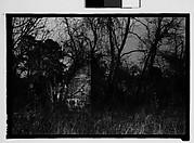 [Brick Slave Cabins, Through Trees and Brush, Savannah Vicinity, Georgia]