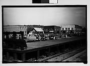 [Railroad Platform, From Train, Savannah, Georgia]