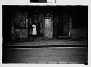 [Woman Standing in Doorway in French Quarter, New Orleans, Louisiana]