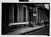 [Row of Shuttered Houses in French Quarter, New Orleans, Louisiana]