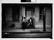 [Men in French Quarter Doorway, New Orleans, Louisiana]