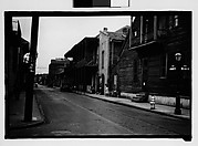 [View Down Burgundy Street in French Quarter, New Orleans, Louisiana]