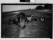 [Children on Levee, From Automobile, New Orleans Vicinity, Louisiana]
