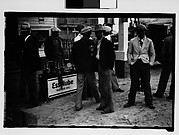 [Men at Filling Station, New Orleans Vicinity, Louisiana]