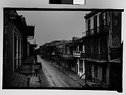 [Street in French Quarter, From Balcony, New Orleans, Louisiana]