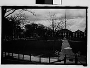 [Greek Revival Houses Around Square, From Elevated Position, New Orleans Vicinity, Louisiana]