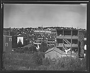 [View of Houses on Hillside from Garden Street, Yonkers, New York]