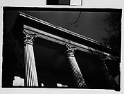 [Column Detail of Belle Grove Plantation House, White Castle, Louisiana]