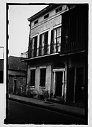 [Balconied House, from Automobile, New Orleans, Louisiana]