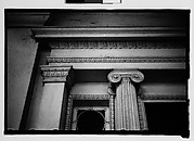 [Greek Revival Doorway Detail, Natchez, Mississippi]