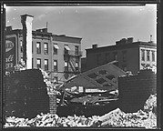 [Garage Demolition Site at York Avenue and 91st Street, New York City]
